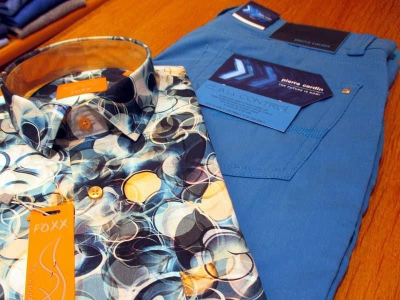 Ensemble sportswear bleu